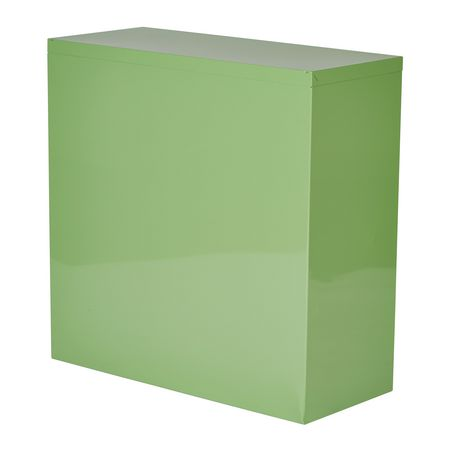 "OSP Designs 28"" Green Metal Bookcase - image 4 of 4"
