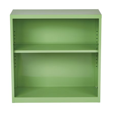 "OSP Designs 28"" Green Metal Bookcase - image 2 of 4"