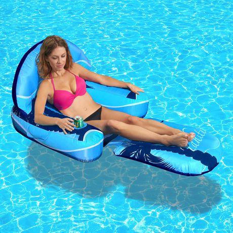 De Longue Gonflable DriftEscape Blue Chaise Wave sxhrBCotQd