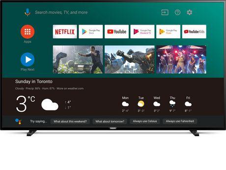 """Philips 65"""" 4K UHD HDR LED Smart TV, 65PFL5504"""