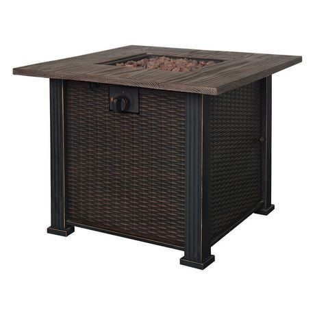 Bond Manufacturing Tuscany Gas Fire Table Walmart Canada