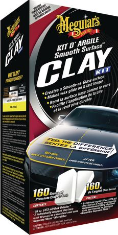 Meguiar's® Smooth Surface™ Clay Kit