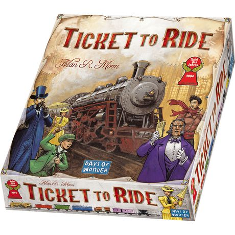 Asmodee Ticket to Ride Board Game - image 1 of 1