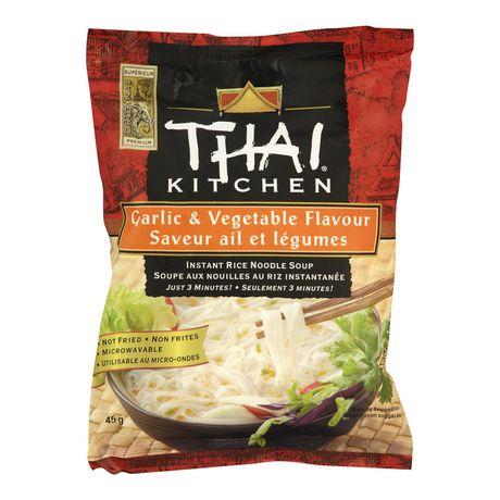 Thai Kitchen Garlic Vegetable Instant Rice Noodle Soup
