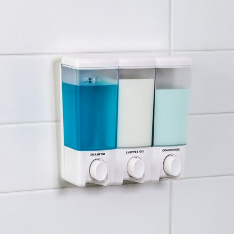 . Mainstays 3 Chamber Shower Dispenser   Walmart ca