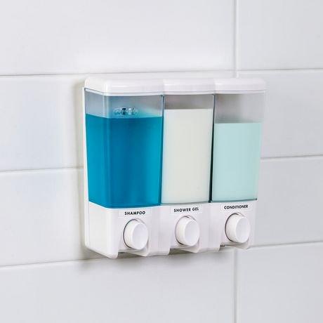 bathroom mounted dispenser soap single plastic shower pressing wall hotel hand shampoo item liquid abs