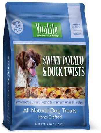 Duck And Potato Dog Treats