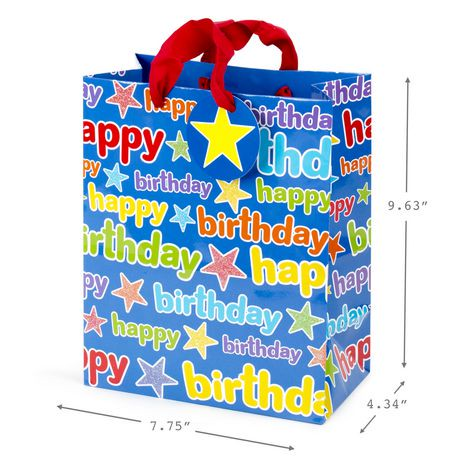 sac cadeau moyen avec papier de soie hallmark pour anniversaire walmart canada. Black Bedroom Furniture Sets. Home Design Ideas