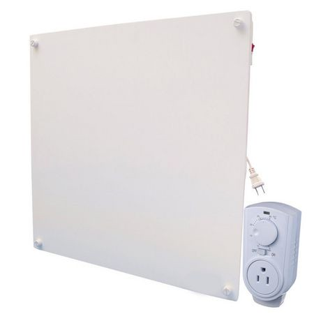 Amaze heater 400w with plug in thermostat electric panel for Convecteur mural