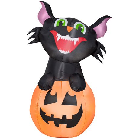 Airblown inflatable decorative black cat walmart canada for Motor for inflatable decoration