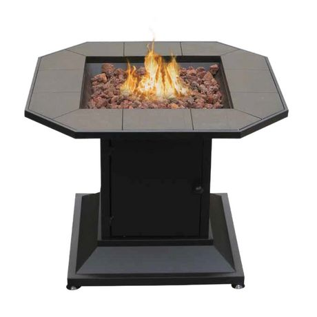 Cayman Table Style Outdoor Gas Fireplace
