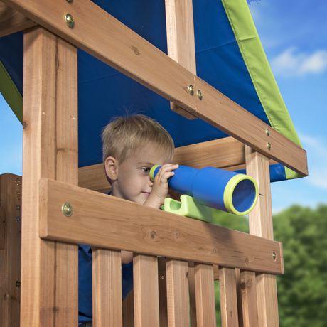 Backyard Discovery Cedar Point Swing Set | Walmart Canada