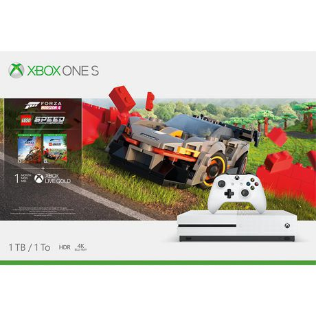 Xbox One S 1TB Console - Forza Horizon 4 LEGO Speed Champions Bundle