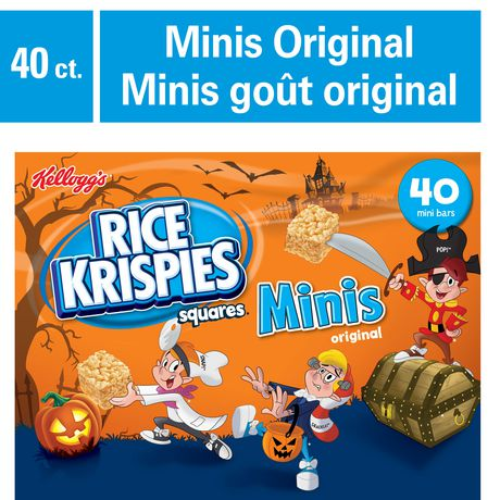 Kellogg's Rice Krispies Mini Square Cereal Bars - image 1 of 4