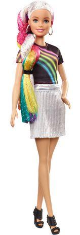 Barbie chevelure scintillante arc-en-ciel - image 7 de 9