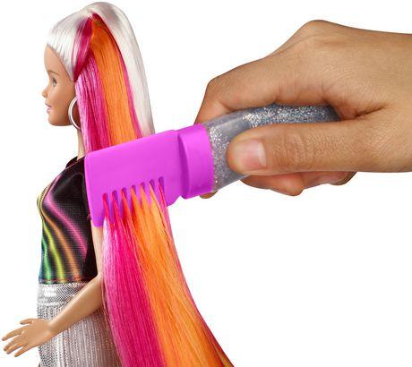 Barbie chevelure scintillante arc-en-ciel - image 5 de 9