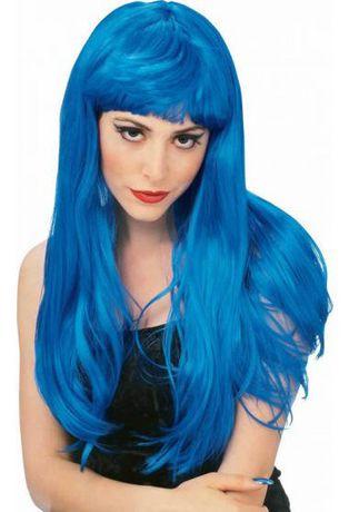 Perruque glamour bleue Rubie's - image 1 de 1