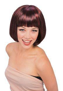 Perruque de mannequin rouge/noire Rubie's - image 1 de 1