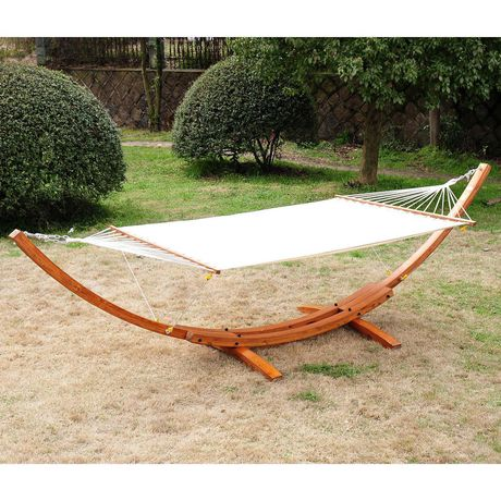 Outsunny 2 Person Swing Hammock With Stand