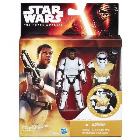 Star Wars: The Force Awakens 3.75 Inch Figure Desert Mission Armor Finn (FN-2187) - image 2 of 2