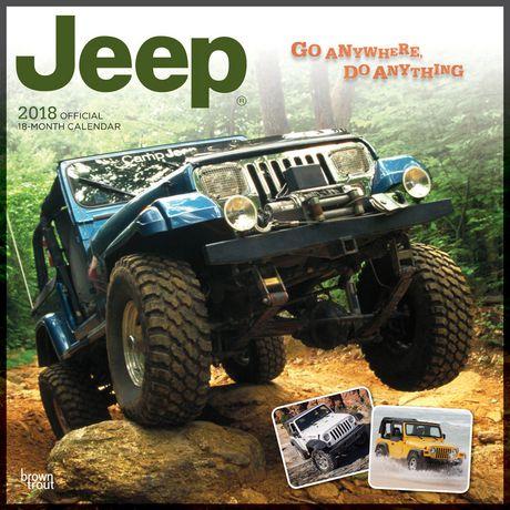 2018 Jeep Calendar | Walmart Canada