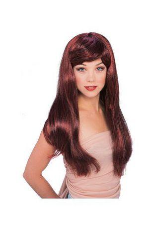 Perruque glamour rouge/noire Rubie's - image 1 de 1