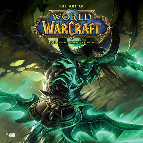 2018 World Of Warcraft Calendar | Walmart Canada
