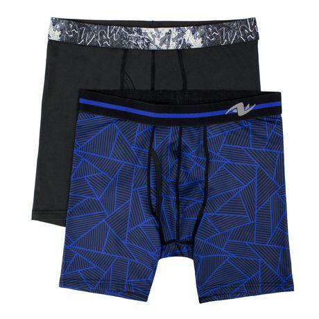 Sous-vêtements Caleçons boxeurs Athletic Works pour hommes en paq. de 2 - image 1 de 2