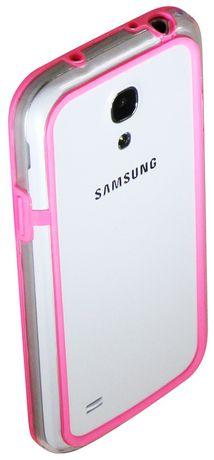 Étui Exian pour Samsung Galaxy S4 pare-chocs - rose - image 1 de 2
