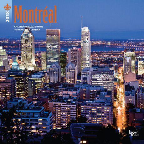 2018 Montréal Calendar | Walmart Canada