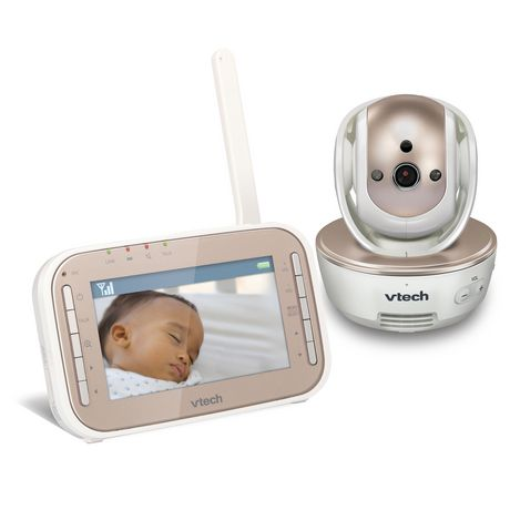 VTech® VM343 Safe&Sound® Full Colour Video And  Audio Baby Monitor - image 2 of 3