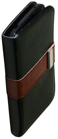 Exian Case for Nexus 4 - Leather Wallet - image 1 of 3