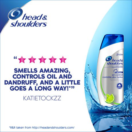 Head and Shoulders Instant Oil Control Anti-Dandruff Shampoo - image 5 of 6