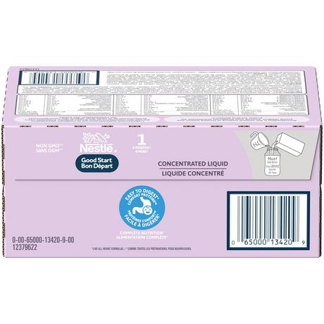 NESTLÉ® GOOD START® 1 Baby Formula, Concentrated Liquid - New Look - image 7 of 8