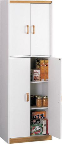 walmart kitchen pantry cabinet 4 door storage pantry walmart canada 28138