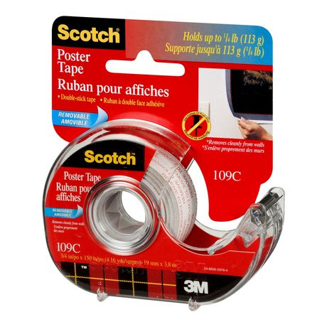 Scotch® Double-Stick Removable Poster Tape - image 3 of 3