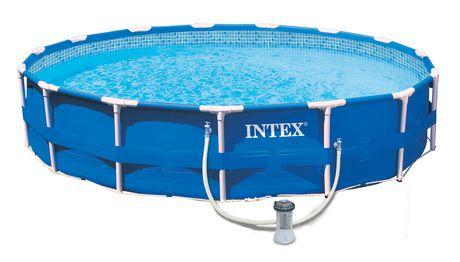 intex 15 x 42 metal frame pool