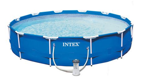 Intex metal frame pool walmart canada for Gifi piscine intex tubulaire