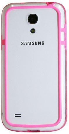 Étui Exian pour Samsung Galaxy S4 pare-chocs - rose - image 2 de 2