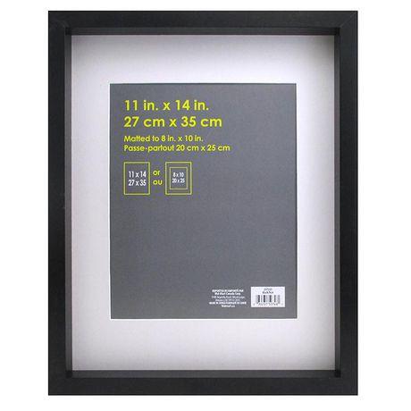 cadre macintyre 28 x 36 cm x 25 4 cm noir