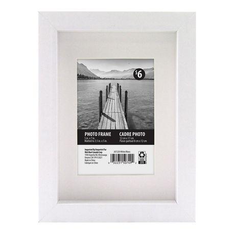 Macintyre Frame 5x7 Matted To 35x5 White Walmart Canada