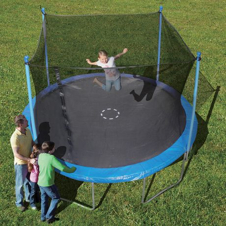 Trainor Sports 12 Trampoline And Enclosure Combo