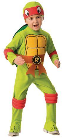 244cec2fbd7 Teenage Mutant Ninja Turtles Tmnt Raphael Toddler Costume