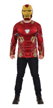 Ironman Infinity War - Iron Man T-Shirt Adult Costume | Walmart Canada