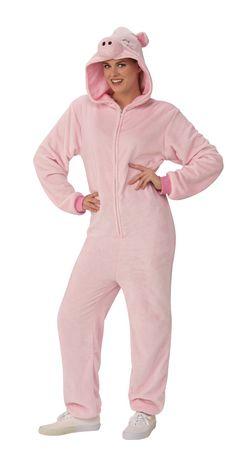 Rubie's Pig Onesie Adult Costume - image 2 of 3