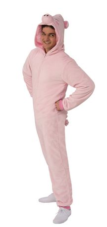 Rubie's Pig Onesie Adult Costume - image 3 of 3