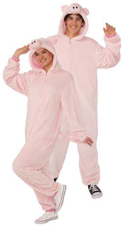 Rubie's Pig Onesie Adult Costume - image 1 of 3