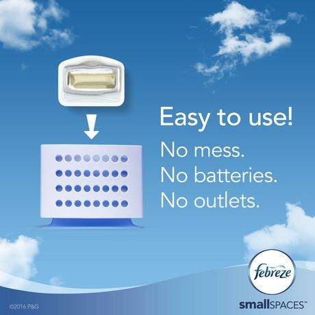 Febreze Small Spaces Air Freshener Refills, Linen & Sky | Walmart ...