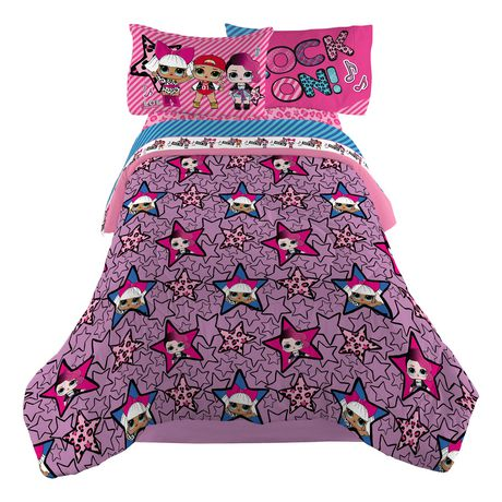 L.O.L Surprise! Twin/ Full Reversible Comforter - image 2 of 2