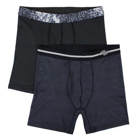 57f9dabf0 Athletic Works Men s Underwear 2-Pack Boxer Briefs - image 1 ...